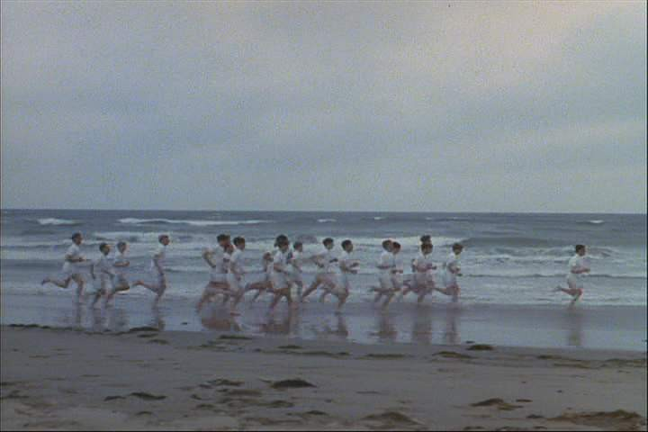 "I even had that ""chariots of fire song"" going through my head as the waves"