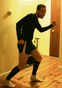 December Running Shorts