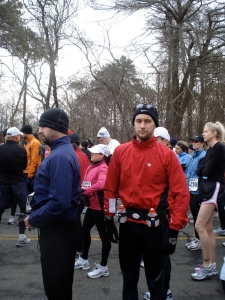 Shivering Hyannis Starting Line
