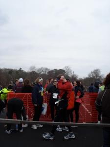 Hyannis half marathon finish 2009
